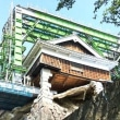 熊本地震2年 城復元が先?