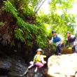 リピーターさんといくキャニオニング&洞窟探検。9日。