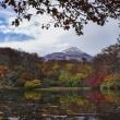 鳥海山のある風景(秋の善神沼)
