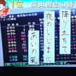 8/18 夏井先生 今回のお題 帰省ラッシュ 柴田さんの作品