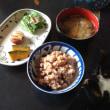 玄米と豚汁