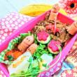 [小樽]娘の今日のお弁当・豚🐷照り焼き丼弁当グルメ案内です。