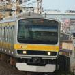 2017年8月23日 総武線  平井 E231系B24編成