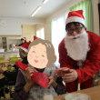初めてのクリスマス会です。