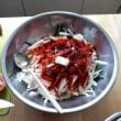 トマトのキムチを作ってみました