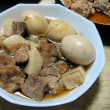 圧力鍋で豚角煮