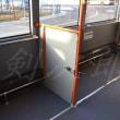 ターミナル間連絡バス用の連接バス
