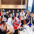 ミスインターナショナル世界大会出場者に和菓子教室