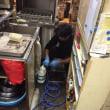カウンター内の清掃