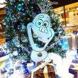アナと雪の女王をテーマにしたクリスマスツリー
