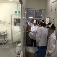 Technical College Students from Thailand and Hong Kong Visited our Nagano Factory