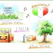 南イタリア・スケッチ・その25・オリーブの樹