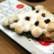 マックスブレナー ホワイトチョコレートグリーンティピザ