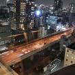 大阪・内本町2丁目当りから西の夜景・・・