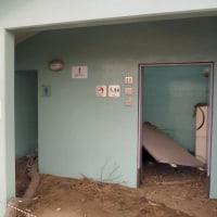 被災を記録した仙台市海岸公園