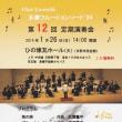 多摩フルートコンソート'94 第12回定期演奏会