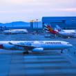 エミレーツ航空  ボーイング 777-300   24/R  アプローチシーンだ❣️