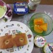 大阪の土産とか、朝ごはん