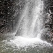 山岳点景:風湧く滝