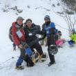 「冬の里山歩き」を楽しみました    石川県支部