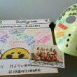 仮面女子候補生のみなさんから、インスタ映えするサインを戴きました。