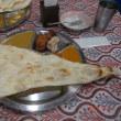 ネパール料理店にてランチ