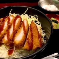 ソースカツ丼を頂きました。 at ニユートーキヨー庄屋 新青山ビル店