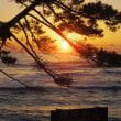 日立温泉ブリッジと国民宿舎「鵜の岬」