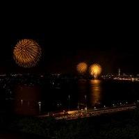 関門海峡の花火大会