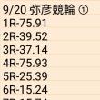 🚴 9/20 弥彦競輪 ①