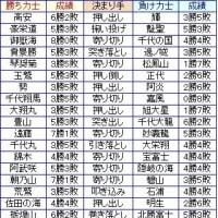 大相撲7月場所8日目