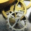 ピンレバー脱進機の時計を修理です