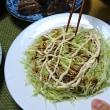 鳥手羽、豚肉、鰤を料理