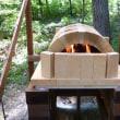 ピザ窯づくり (4) 調理