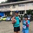 山の日に山都町トレイルラン試走会に参加しました。