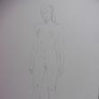 【デッサン・絵画】シリーズ「全身デッサン97.3の②」