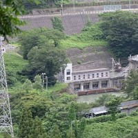 新潟県☆姫川第六発電所☆管理者☆黒部川電力(田原の水門)