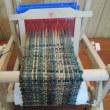 スウェーデン製のミニチュア織り機