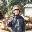卒業生の就職先訪問(江の川下流流域林業活性化センター視察)