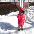 はじめての雪