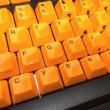 Realforce のキートップを塗装してみる...の続き