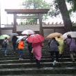 伊勢の神宮参りと台風襲来