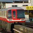 2018年2月19日 東京モノレール  羽田空港線 昭和島 1054F(500形復刻塗装)