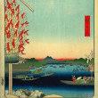 隅田川⑰ 花柳界の名残を残す柳橋 赤と青のかんざしがきらめく