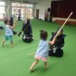 みどり 4歳児 剣道