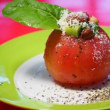 今朝のサラダ・・・丸ごとトマト