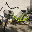新しい自転車を買いました♪