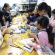 子供お絵かき教室かぎ針編みに挑戦!
