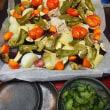 鶏肉といろいろ野菜のオーブン焼き