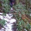 湯来冠山冬登山(2)  標高約700m稜線迄